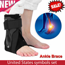 Adjustable Foot Ankle Brace Fracture Sprain Recover Support Joint Protector M