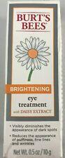 Burt'S Bees Brightening Eye Treatment with Daisy Extract .5 oz