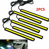 2x Super Bright COB White 12V Car LED Lights for DRL Fog Driving Lamp Waterproof