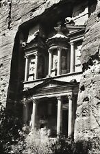 1934 Vintage Print 11x14 EDOM ~ Petra Great Rock Fortress Architecture Photo Art