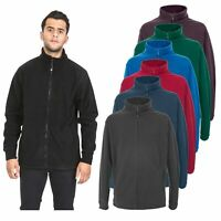 Trespass Strength Mens Warm Full Zip Fleece Pullover Walking Hiking Jumper