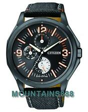 CITIZEN EcoDrive Watch,WR100,Date/Day,12/24 hrs,LowChargeIndicat,Mens,AP4005-11E