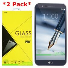 2-Pack Premium Tempered Glass Screen Protector For LG Stylo 3 Plus T-Mobile