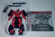 Transformers Last Knight Wave 2 Deluxe Class DRIFT Loose Figure Hasbro 2017