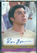 Star Trek Inflexions  (A142) Ralph Brannen as Crewman Barbola Autograph Card