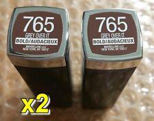 2x Maybelline Color Sensational Lipcolour Lipstick - 765 Grey Over it (set of 2)