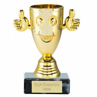 """Free p/&p /& Engraving Clear Pound Sign Glass Award Trophy 4.75/"""""""