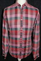 TED BAKER London Mens Muti Coloured Check Long Sleeved Shirt Size (5) XL
