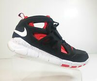 "Nike 559599-016 Huarache Free Shield ""NYC Pack"" Men Black Red Sport Shoes Sz 12"