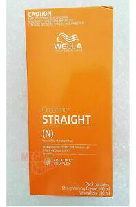 WELLA WELLASTRATE Permanent Hair Straightening Cream Straight System # Intense