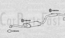 Exhaust Middle Box Mitsubishi Carisma 1.6 Petrol Saloon 08/1999 to 07/2000