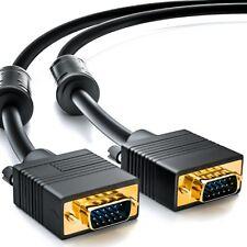0,5m VGA Kabel 0,5 m S-VGA Monitorkabel / LCD TFT CRT Monitor Kabel HD