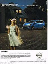 PUBLICITE ADVERTISING 065  2006  NISSAN  le nouveau NISSAN NOTE