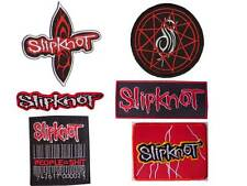 New 6 Slipknot Heavy Metal Rock Band embroidered iron on patch collection.
