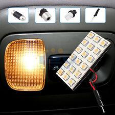 12V Warm W LED Panel Light Car Interior T10 BA15S G4 Festoon Dome Trunk Lamp