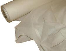10 m Französisch Baumwolle Musselin Voile Stoff Vorhang - weiß