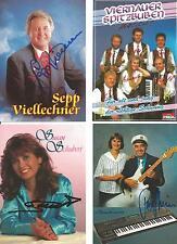 4 Autogramme Musik Lot Schwarzwald Quintett Dirk Schiefen Go West Günter Wewel #
