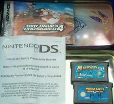 4pc Set 2 Gameboy Advance Video Games Madagascar Mario Kart Super Circuit