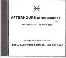 (CY237) Afterhours, Streetsoundz Vol 1 - 2000 DJ CD