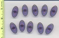 Star Wars LEGO x10 Trans-Purple Minifig, Shield Oval SW Gungan Patrol Pattern