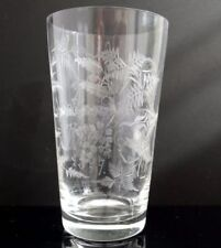 Clear Victorian Glass