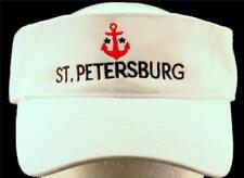 MEN'S St. Petersburg Tampa Bay Sunshine City Travel Yacht Club Anchor Visor Hat
