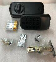 Yale YRD110 Real Living B1L Lock Push Button Deadbolt Z Wave - Black