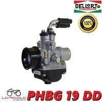 R2685 CARBURATORE DELL'ORTO PHBG 19 DD MOTO SCOOTER 50 100 2T CON MISCELATORE