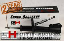 2 NEW FRONT GAS SHOCK ABSORBERS FOR FIAT BRAVA BRAVO TIPO TEMPRA //GH-352352//