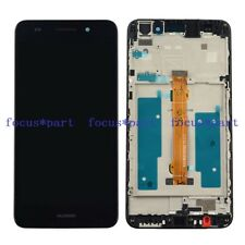 Black Huawei Y6 II 2 CAM-L21 Honor 5A Touch Digitizer LCD Display Assembly Frame