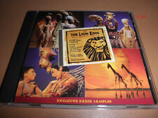 Disney THE LION KING radio SAMPLER cd Shadowland CIRCLE of LIFE They Live in you