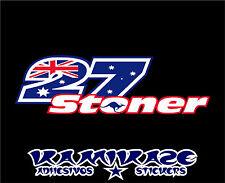 PEGATINA STICKER AUTOCOLLANT ADESIVI AUFKLEBER DECAL CASEY STONER  27