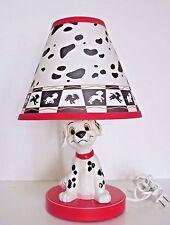 Disney's 101 Dalmatian's Lamp Red Puppy Dog Light Disney
