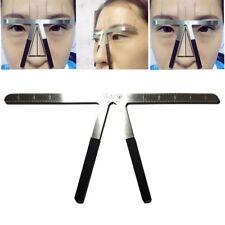 Microblading Eyebrow Stencil Ruler Shaper Template Permanent Tattoo Supplies