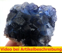 6774 Fluorite Calcite 7*12*5 cm Minerva Mine Cave in Rock Illinois MOVIE