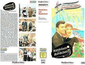 (VHS) Mandolinen und Mondschein - Claus Biederstaedt, Christine Görner  (1959)