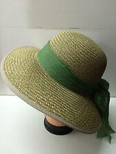 chapeau casquette femme été 100% paille staw