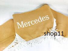 Mercedes Gardinen Frontscheibe Verzierung Scheibenborde Vorhänge Beige weiss