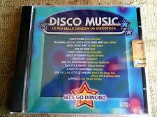 Disco music - Let's go dancing le più belle canzoni da discoteca - CD NUOVO