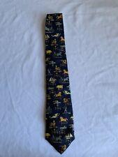 Alynn Neckwear Mens Vintage Weather Vanes Tie