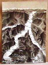 Lago di Como [grande, b/n, viaggiata]