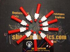 Mazinga Short Vane Fin Missile Set of 10 - Popy Mattel Unifive Shogun Warrior