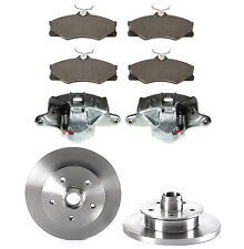 VW TRANSPORTER T3 T25 PAIR FRONT BRAKE CALIPERS, PADS & DISCS (GIRLING) BBK0014A