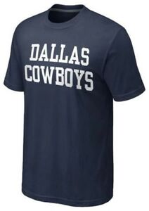 DALLAS COWBOYS Coaches T-Shirt- Men's Size LARGE - NFL Licensed - NEW IN BAG