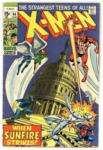 X-Men 64 1st Sunfire! Sal Buscema, Don Heck! 1970 Marvel Comics A752