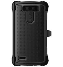 Ballistic LG G3 Vigor Maxx Series Case With Holster TX1483-A07C - Charcoal/Black
