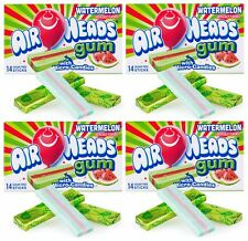 4x Air Heads Gum With Micro-Candies Watermelon Flavored American Sweets