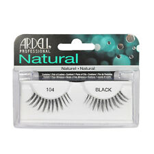 2 Pairs x Ardell Natural Lashes #104 False Eyelashes Fake Lash Eyelash Black