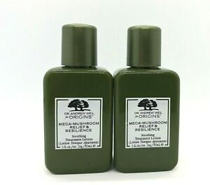 Lot/2 Origins Mega Mushroom Relief & Resilience Soothing Treatment Lotion ~ 1 oz