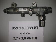 VW Touareq 7P 3,0 TDI V6 Druckrohr Kraftstoffverteiler Drucksensor 059130089BT